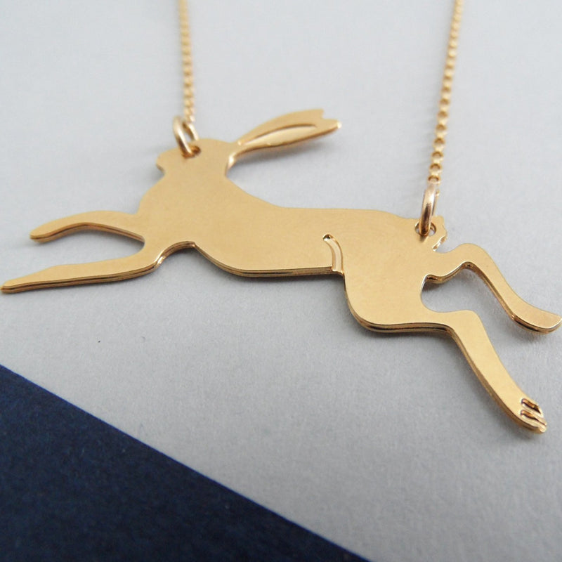 Running Rabbit Necklace