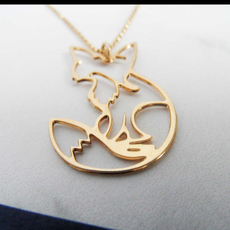 Shy Fox Necklace