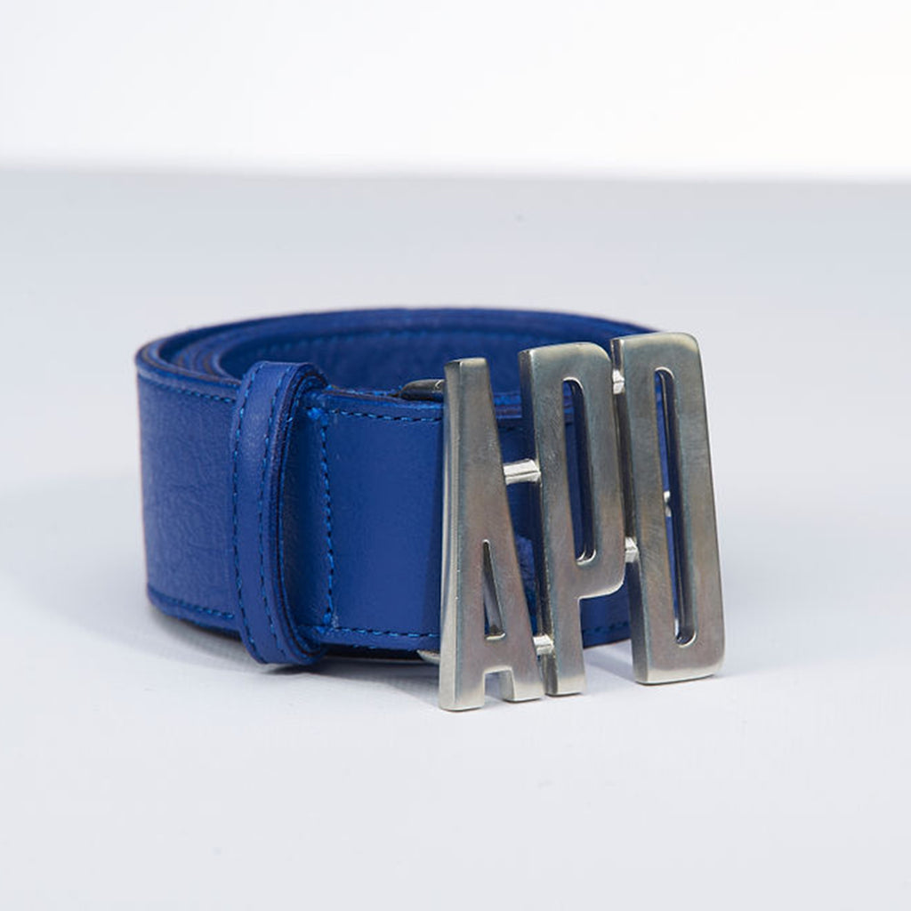 Leather Logo Belt (40% OFF)