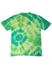 Green and Yellow Tie Dye Tee