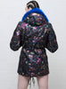 Metallic Paint Denim Jacket