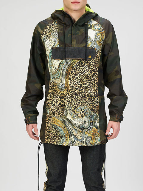 Waxed Camo Anorak (30% OFF)