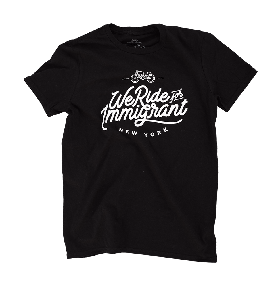 We Ride For Immigrant NY tee