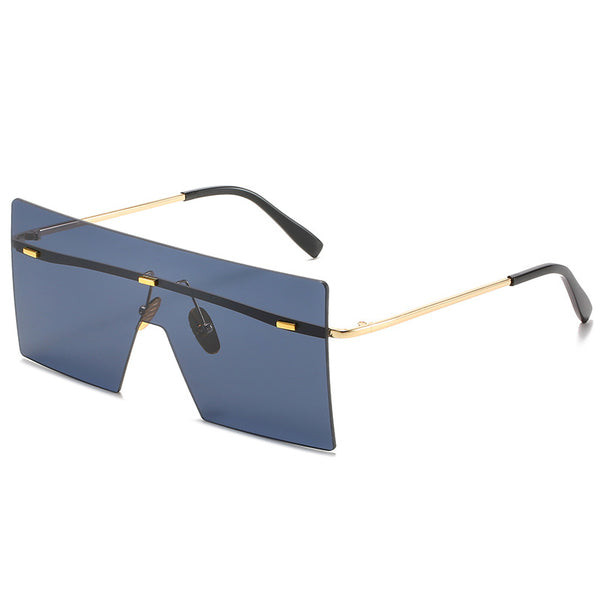 OVERSIZED SUNGLASSES WITH BAR