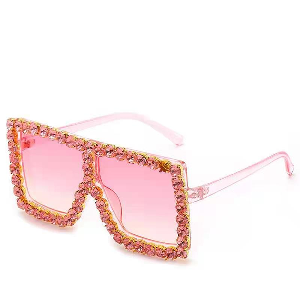 BLING SUNGLASSES - PINK