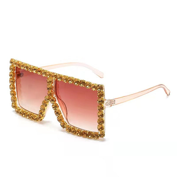 BLING SUNGLASSES - GOLD
