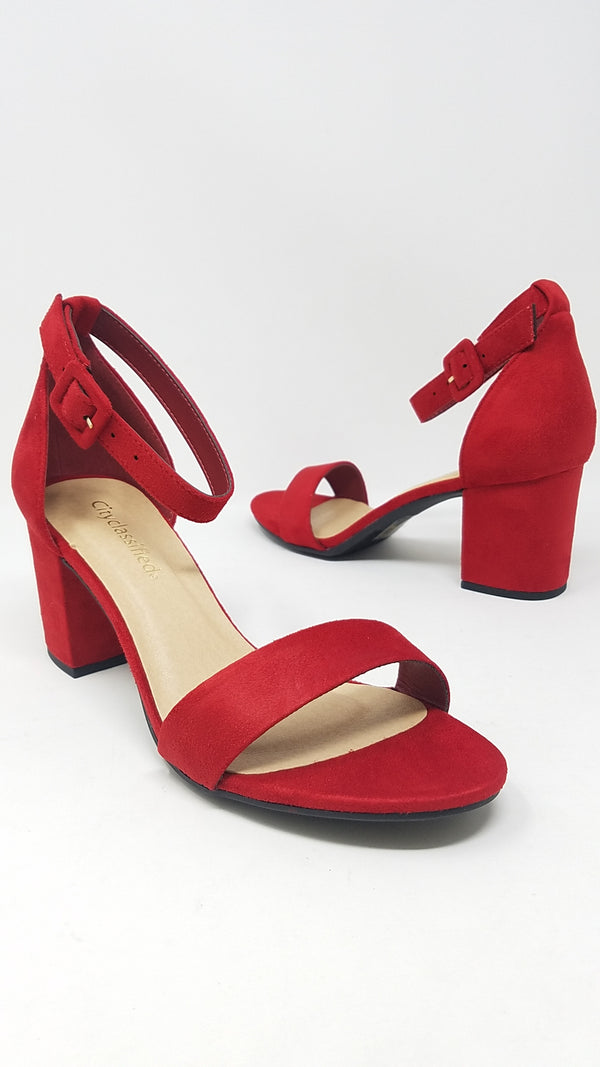 CAKE - RED SUEDE