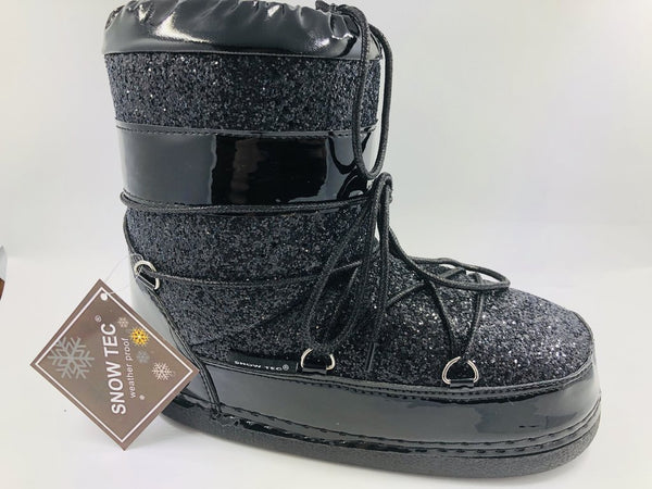 MOON1 - BLACK SPACE BOOTS