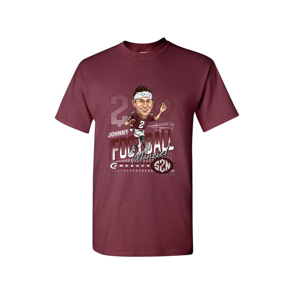 RETRO SPORTS T-SHIRT (Maroon)