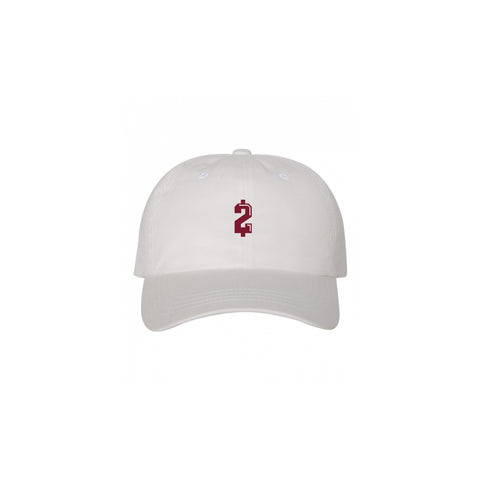 WHITE $2 MONEY MANZIEL DAD HAT