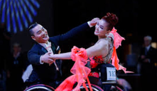 Dance instructors learn about wheelchair ballroom dancing