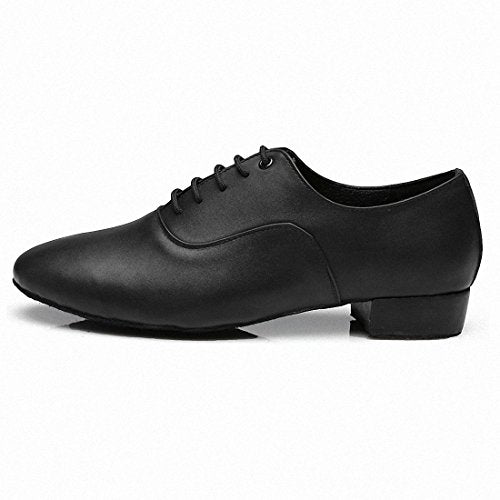 Men's 1 Inch Heel, Leather Dance Shoe