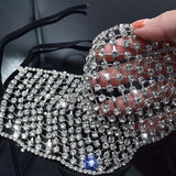 Rhinestone Mask Cover