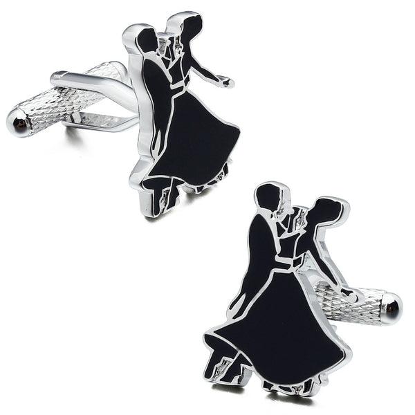 Dancing Couple Cufflinks
