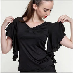 Ruffled Dance Top