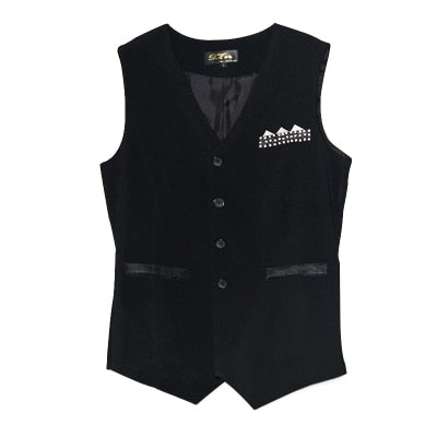 Dance Addicts Men's Ballroom Vest