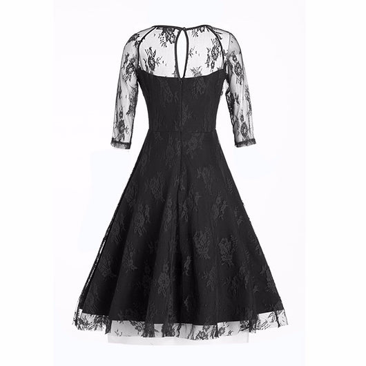 Dance Addicts Vintage-Style Swing Dress