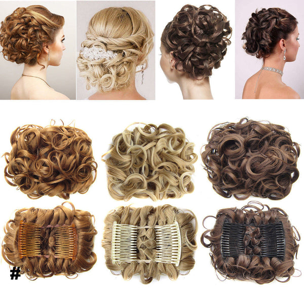 Dance Addicts Curly Chignon Hairpieces
