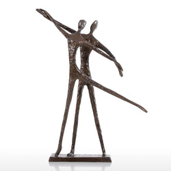 Dance Addicts Bronze Dance Sculpture