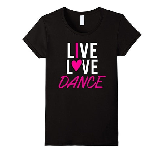 Dance Addicts Love Dance T-shirt