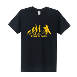 Dance Addicts Men's Latin Print T-shirt