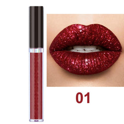Dance Addicts Shimmer Lipgloss Red