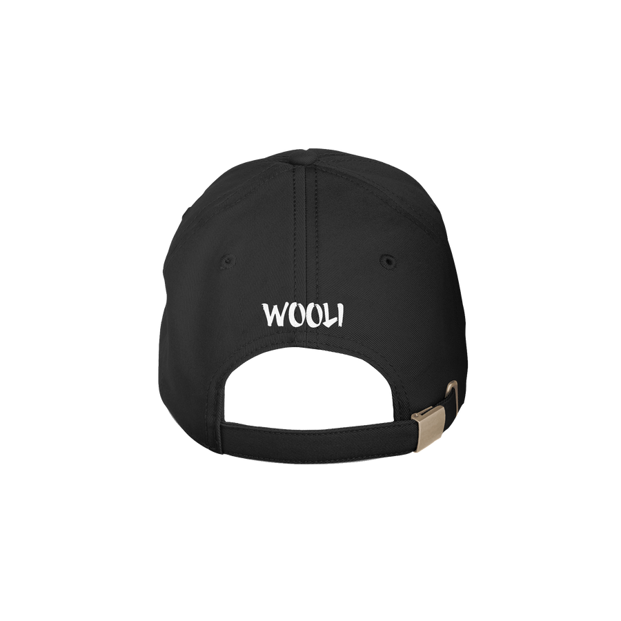 Wooli Dad Hat / Black