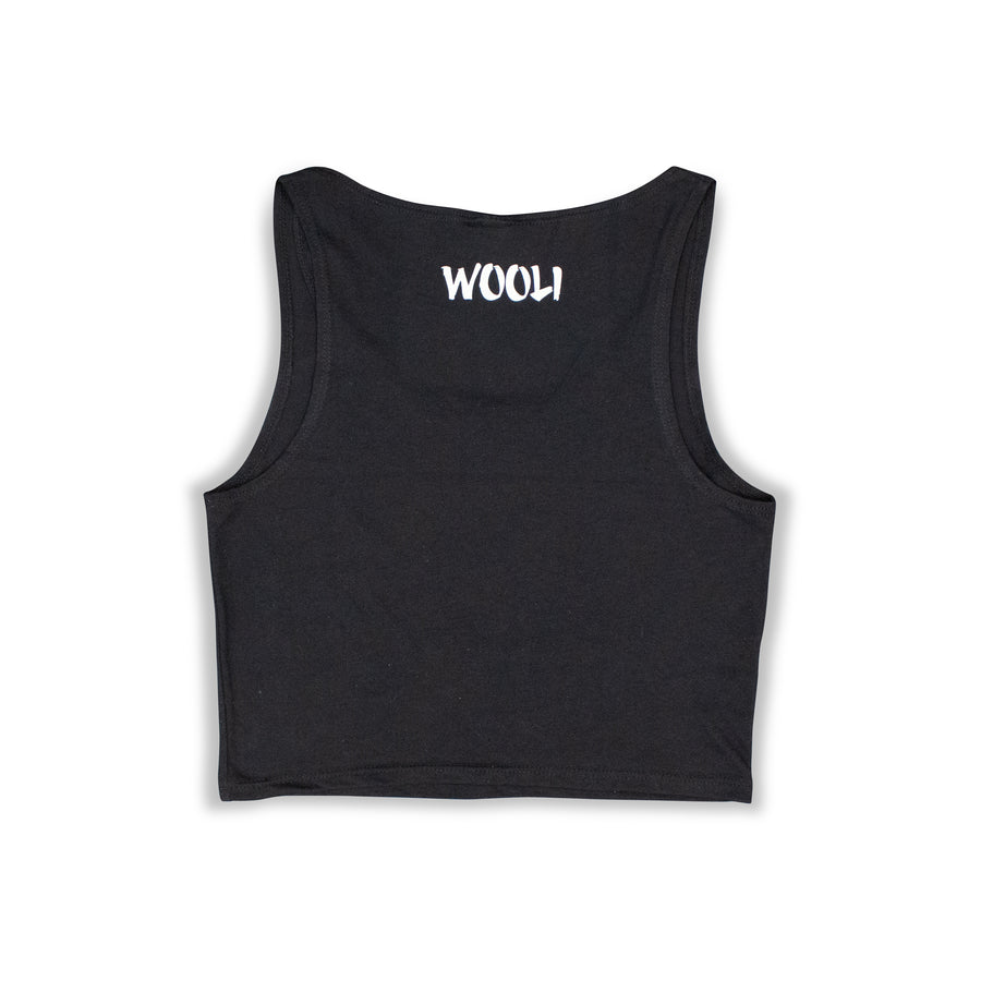 Wooli Logo Women Crop Top