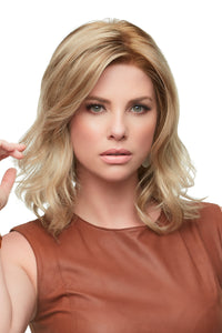 Kendell, John Renau, synthetic wig, mono top, lace front, 12FS12