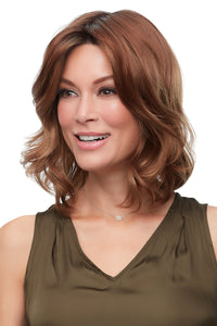 Kendell, John Renau, synthetic wig, mono top, lace front, 30A27S4
