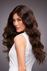 KIM by JON RENAU in 4RN | Darkest Brown (Remi Human Hair Renau Natural),
