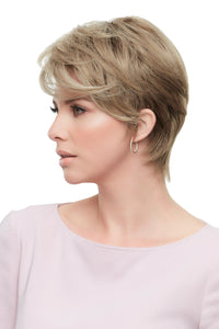 Rose by Jon Renau, smart lace, monofilament top, Synthetic hair, Venice Blonde