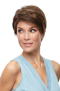 Rose by Jon Renau, smart lace, monofilament top, Synthetic hair, 6F27, wig for alopecia, cancer, hair loss