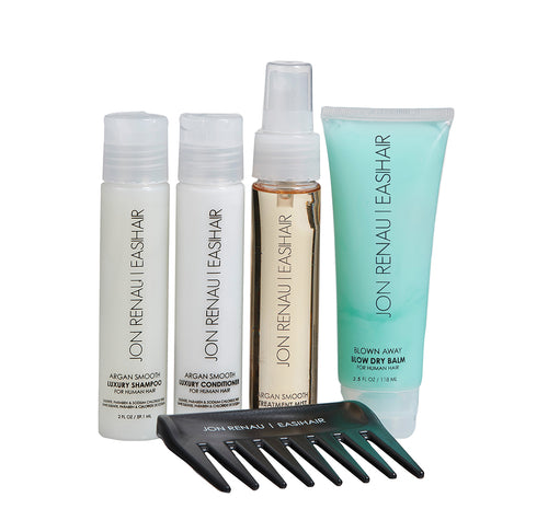 JON RENAU| EASIHAIR Travel Kit- Human Hair