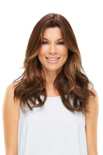 "Load image into Gallery viewer, easiPart HD 18"" Synthetic Hair Topper (Mono Top)"