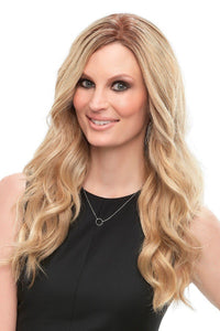"Top Style - HH 18"" Remy Hair Topper (Double Mono Top)"