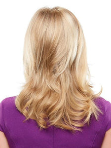 Top Notch Synthetic Hair Topper (Double Mono Top)