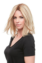 "Load image into Gallery viewer, Top Form French 12"" Remy Human Hair Topper (Mono Top)"