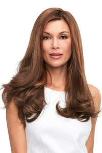 "Top Full - HH 18"" Remy Human Hair Topper ( Mono Top)"