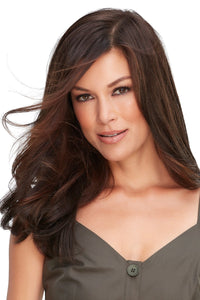 "Top Full 18"" Synthetic Hair Topper (Mono Top)"