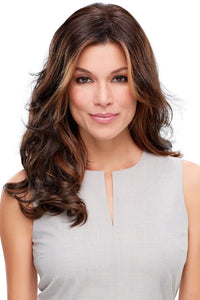 Top Level Synthetic Lace Front Hair Topper (Mono Top)