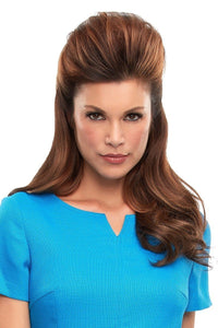 "Top This 16"" HH Remy hair Topper (Single Mono Top)"