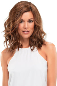"Top Wave 12""Synthetic Hair Topper ( Double Mono Top)"