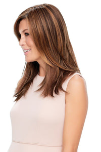 "Top Style 18"" Synthetic Hair Topper (Mono Top)"