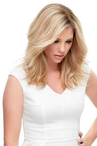 "Top Style - HH 12"" Remy Hair Topper ( Double Mono)"