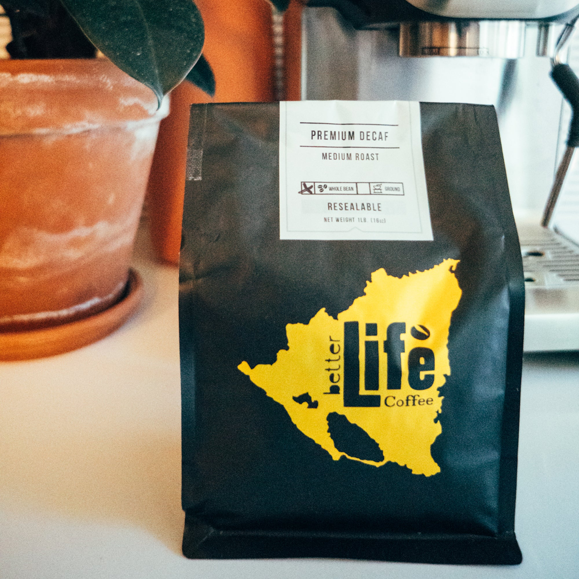 Better Life Coffee All Natural Decaf