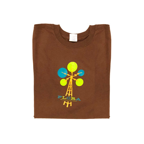 """Flora Studios"" Brown Unisex Medium T-shirt"