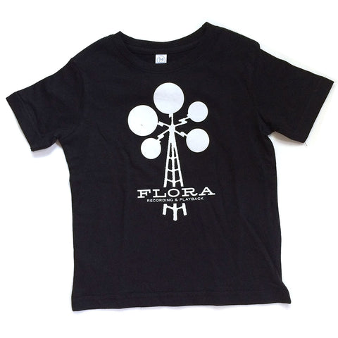 Flora Recording & Playback Kids T-shirt