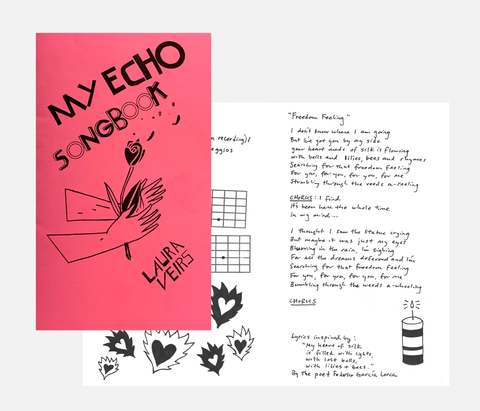 My Echo - Lyric & TAB book