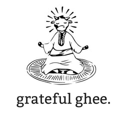 grateful ghee organic grass-fed paleo